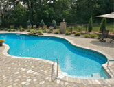 An Exact Liner Fit with A Matrix Pool Systems Pool Liner