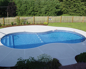 Oval Inground Pool Installation
