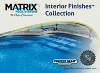 Matrix Interior Pool Finishes Brochure - Browse Our Inground Liner Patterns and See How They Will Look In Your Pool