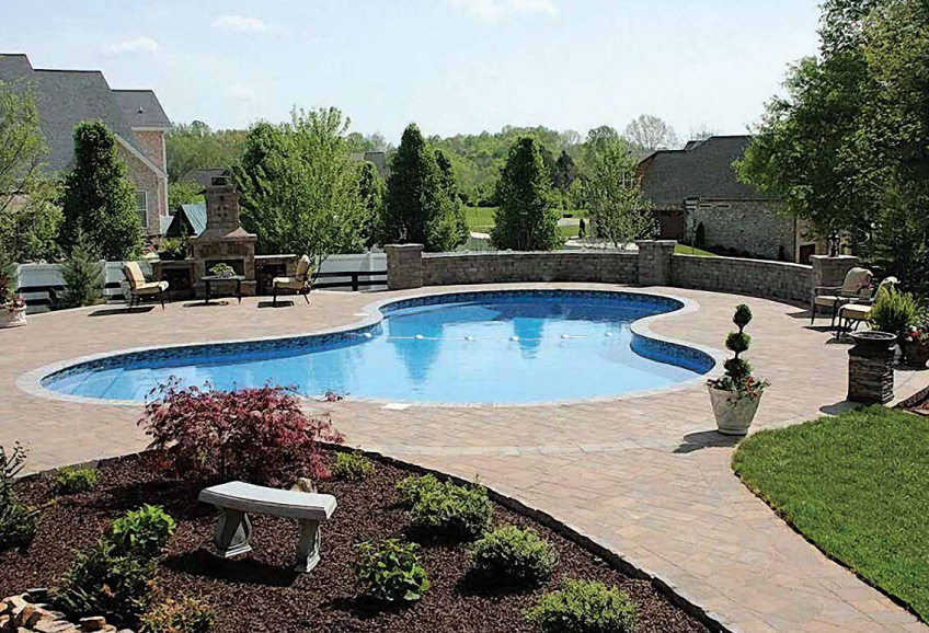 Custom Inground Pool Designs for Polymer Pools