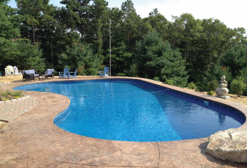 Custom Inground Pool Design Ideas - Matrix Polymer Inground Pools
