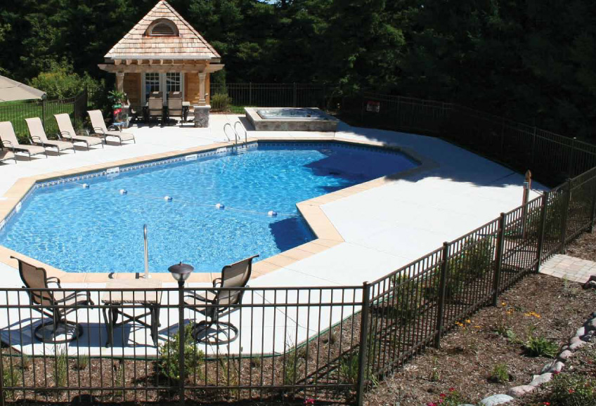 Grecian Matrix Polymer Inground Pool Designs