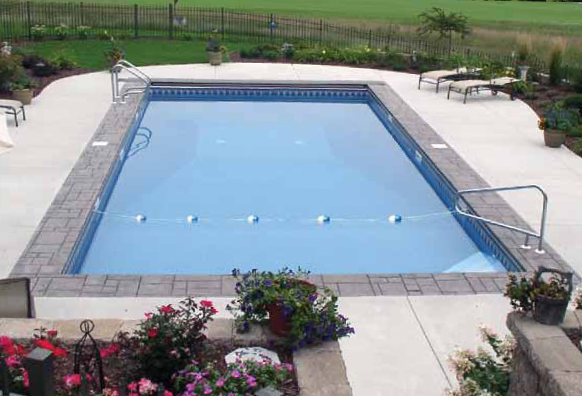 Matrix Inground Pools - Rectangle Shape Pool Packages for Polymer Pools