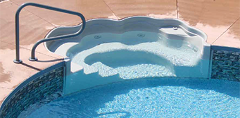 Tread Loc Pool Steps - Thermoplastic Pool Steps for Polymer Pools